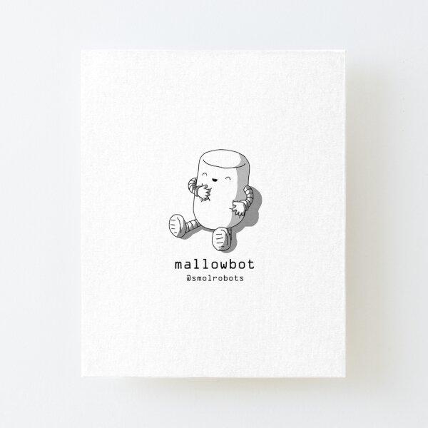 Mallowbot Canvas Mounted Print