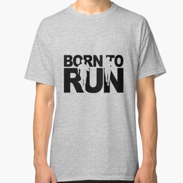 BORN TO RUN MALE Runner Marathon Vinyl Decal Sticker C