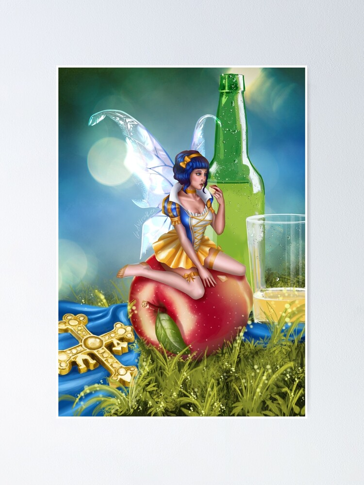 Alternate view of Cider Fairy Poster