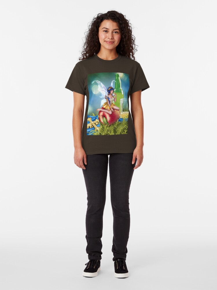 Alternate view of Cider Fairy Classic T-Shirt