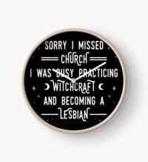 Sorry I Missed Church Clock
