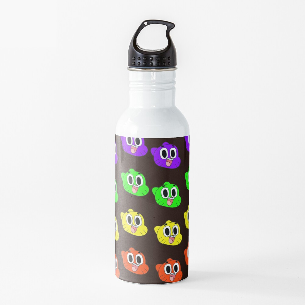 Rainbow Happy Gumball Watterson Water Bottle