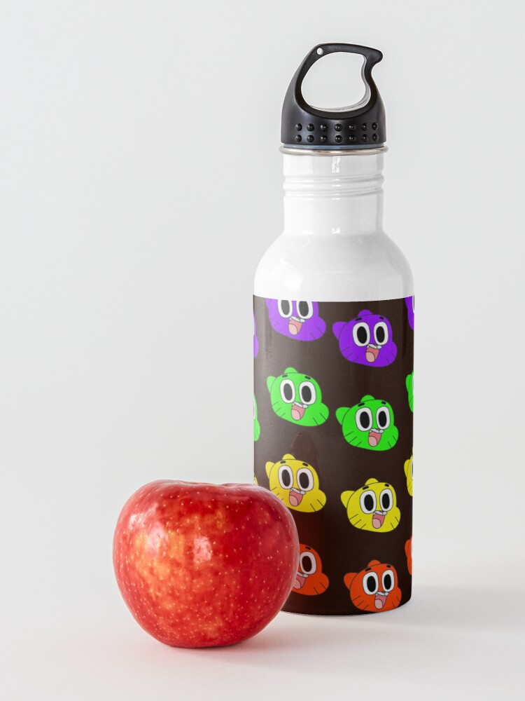 Alternate view of Rainbow Happy Gumball Watterson Water Bottle