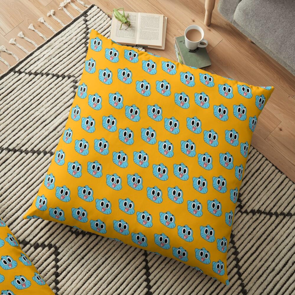 Happy Gumball Floor Pillow