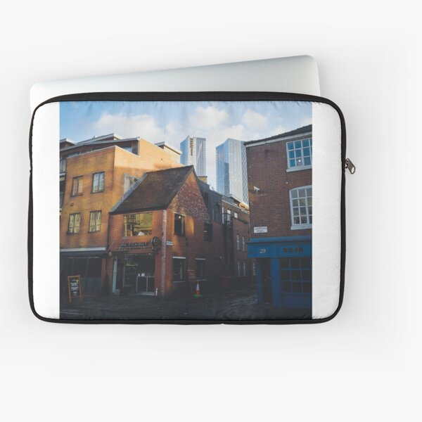 Old and new in Manchester Laptop Sleeve