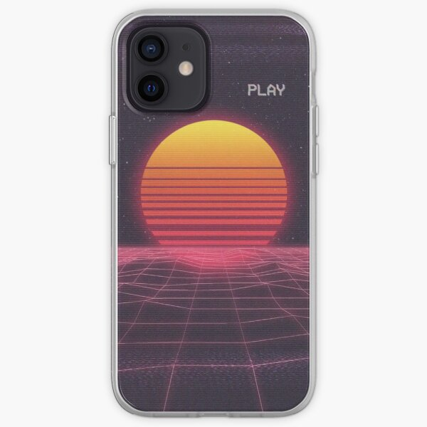Synthwave iPhone Soft Case