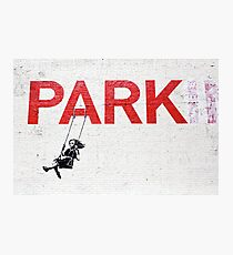 "Banksy ""Park"" Photographic Print"