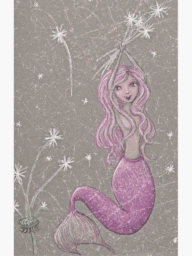 Dandelion Mermaid by LittleMissTyne
