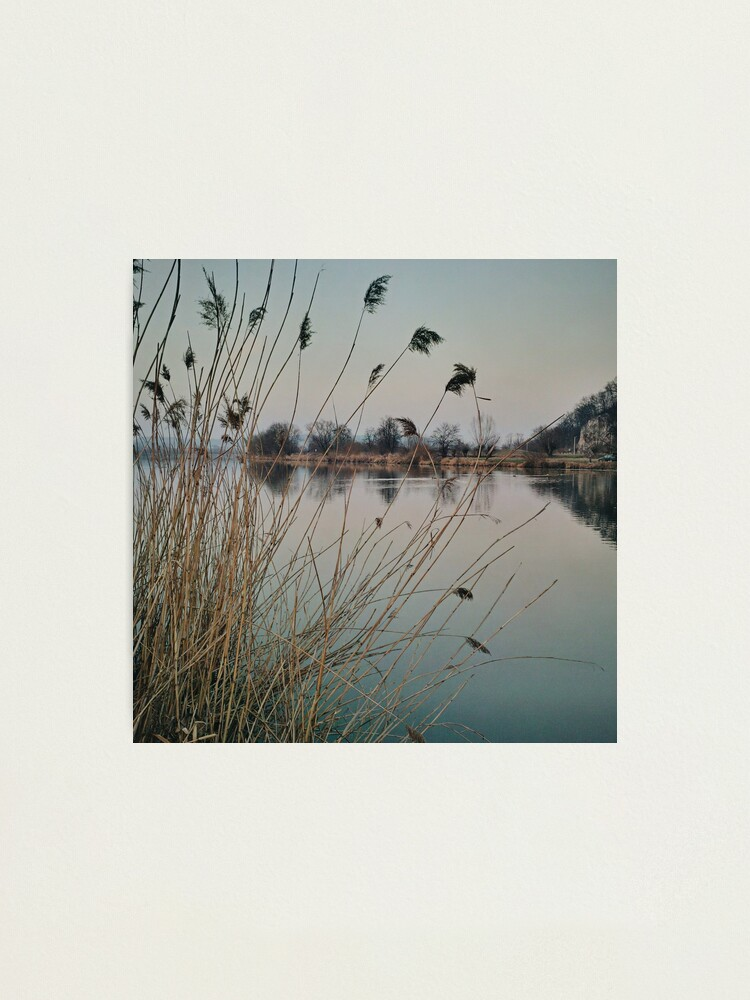 Alternate view of River side in Krakow Photographic Print