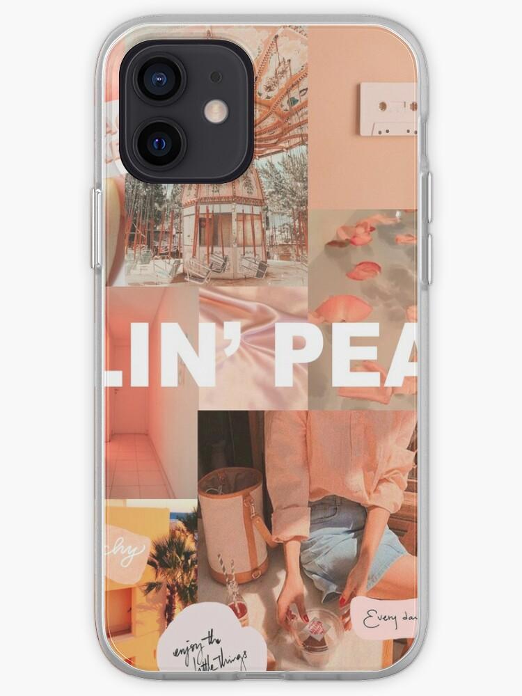PEACH COLLAGE - TAPISSERIE - ÉTUI POUR TÉLÉPHONE - IMPRIMÉ | Coque iPhone
