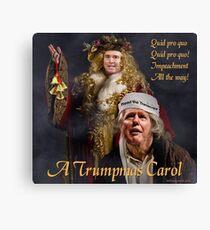 A Trumpmas Carol Canvas Print