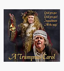 A Trumpmas Carol Photographic Print