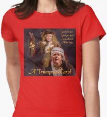 A Trumpmas Carol Fitted T-Shirt