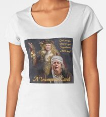 A Trumpmas Carol Premium Scoop T-Shirt