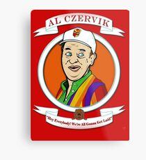 Caddyshack - Al Czervik Metal Print