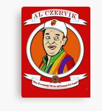 Caddyshack - Al Czervik Canvas Print