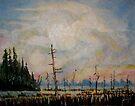 Carolina Sky by Jim Phillips