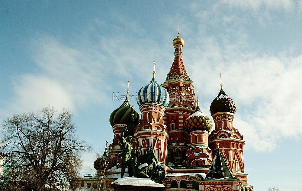 First spring days in Moscow by KatrinKirieshka