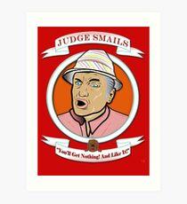 Caddyshack - Judge Smails Art Print