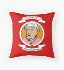Caddyshack - Judge Smails Throw Pillow