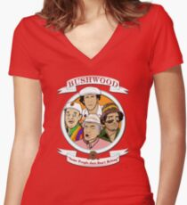 Camiseta entallada de cuello en V Caddyshack - Bushwood