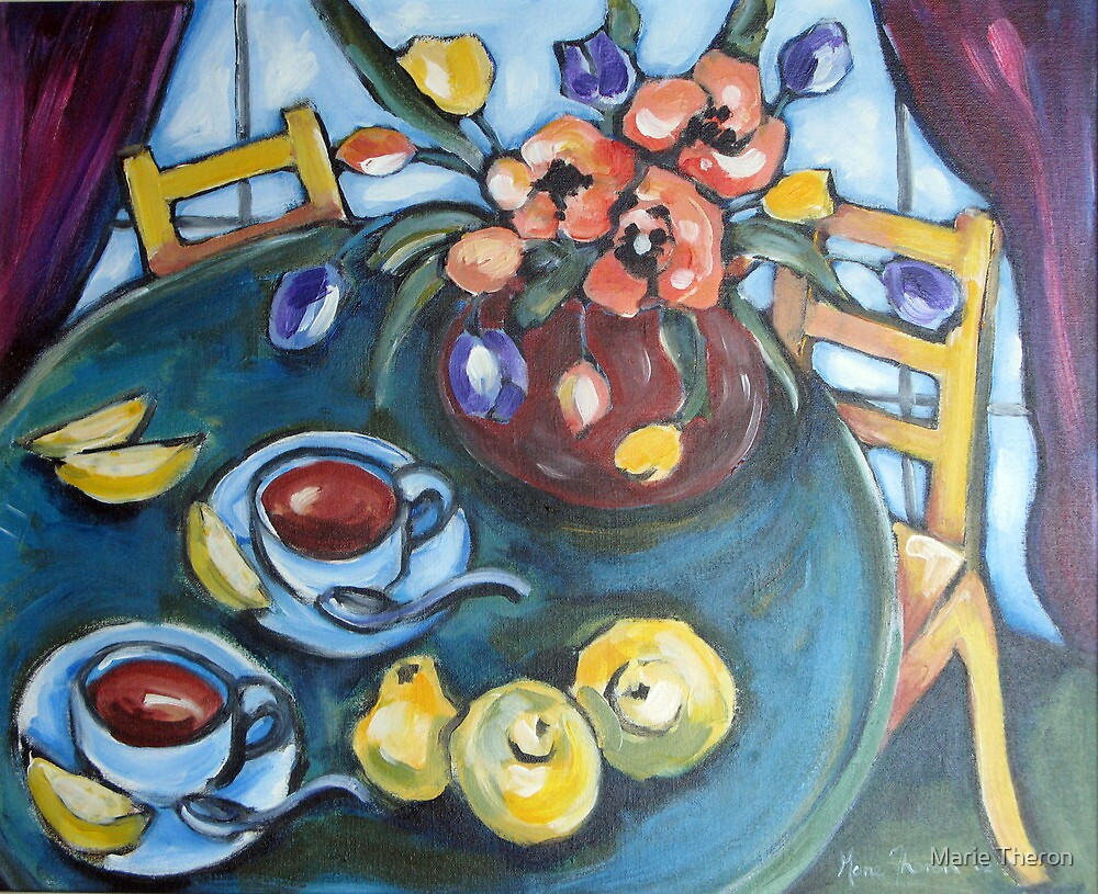 Lemon Tea by Marie Theron