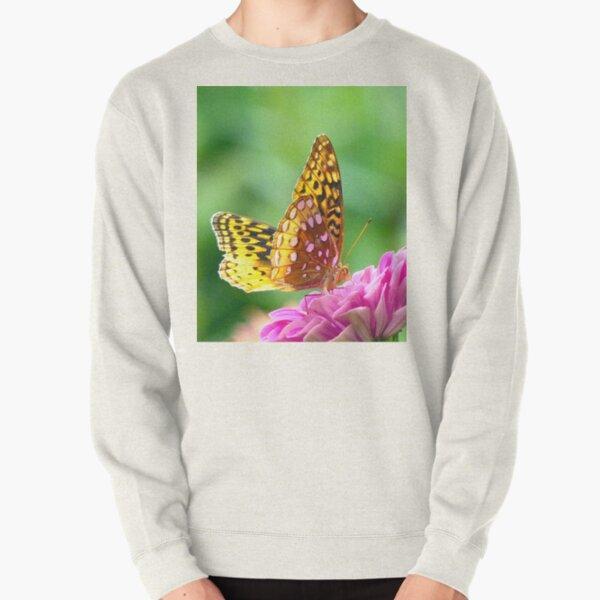 Great Spangled Fritillary Pullover Sweatshirt