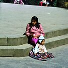 Peru and Bolivia 1984: Cuzco street scene - 4  by jensNP