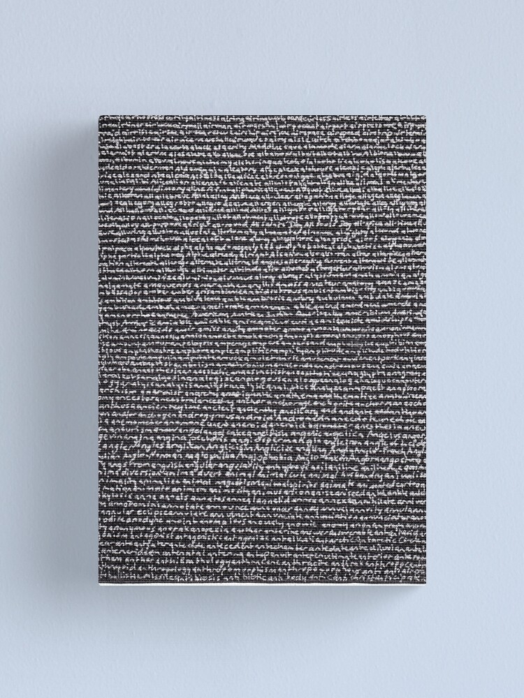 "Alternate view of ""Dictionary 2"" (air-cooled-anticipate) Canvas Print"