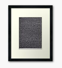 """Dictionary 2"" (air-cooled-anticipate) Framed Print"