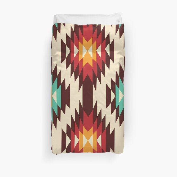 American Native Pattern No. 7 Duvet Cover