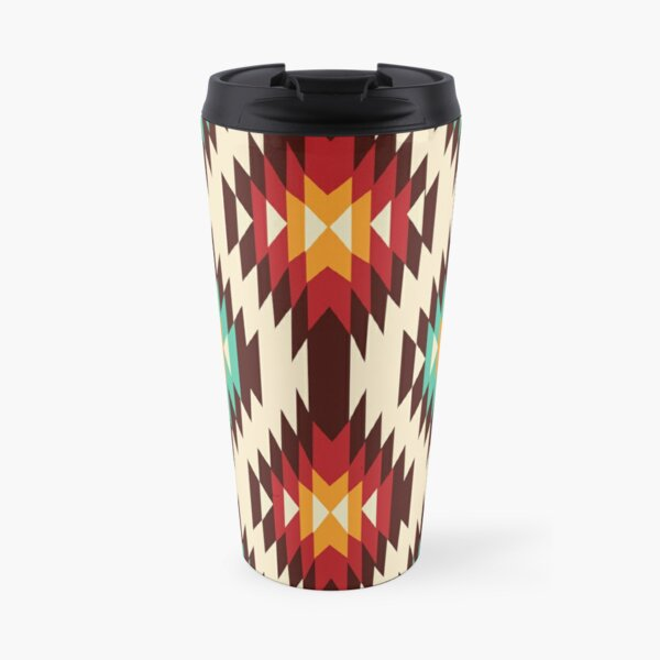 American Native Pattern No. 7 Travel Mug