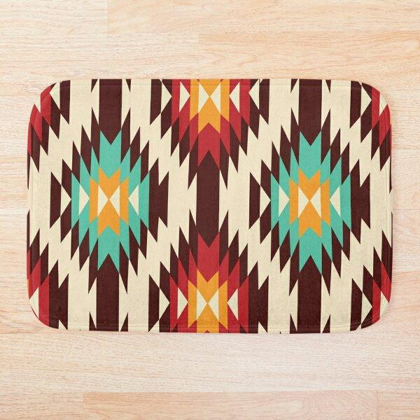 American Native Pattern No. 7 Bath Mat