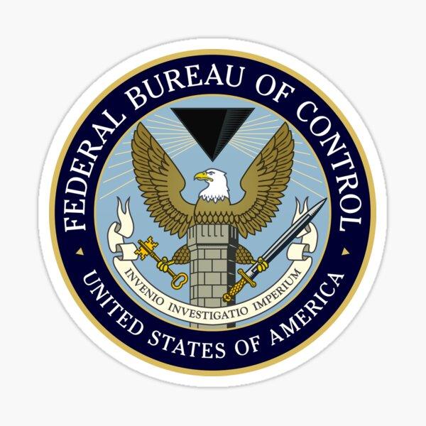 Federal Bureau of Control Sticker
