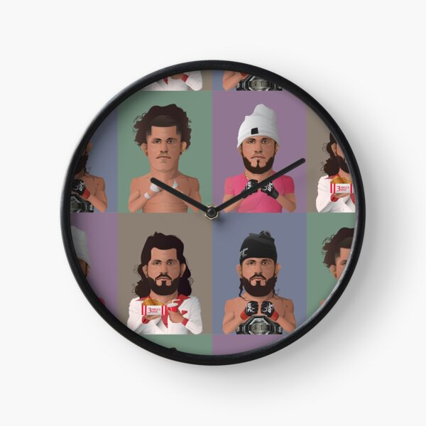 The Evolution of Jorge Masvidal Clock