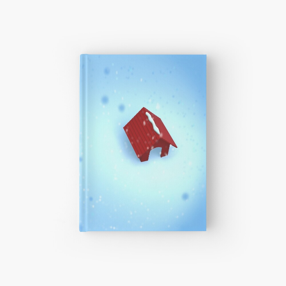 Christmas In the Dog House Hardcover Journal
