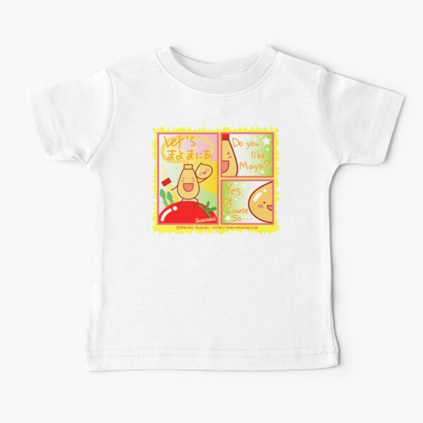 Mayo Comic Baby T-Shirt