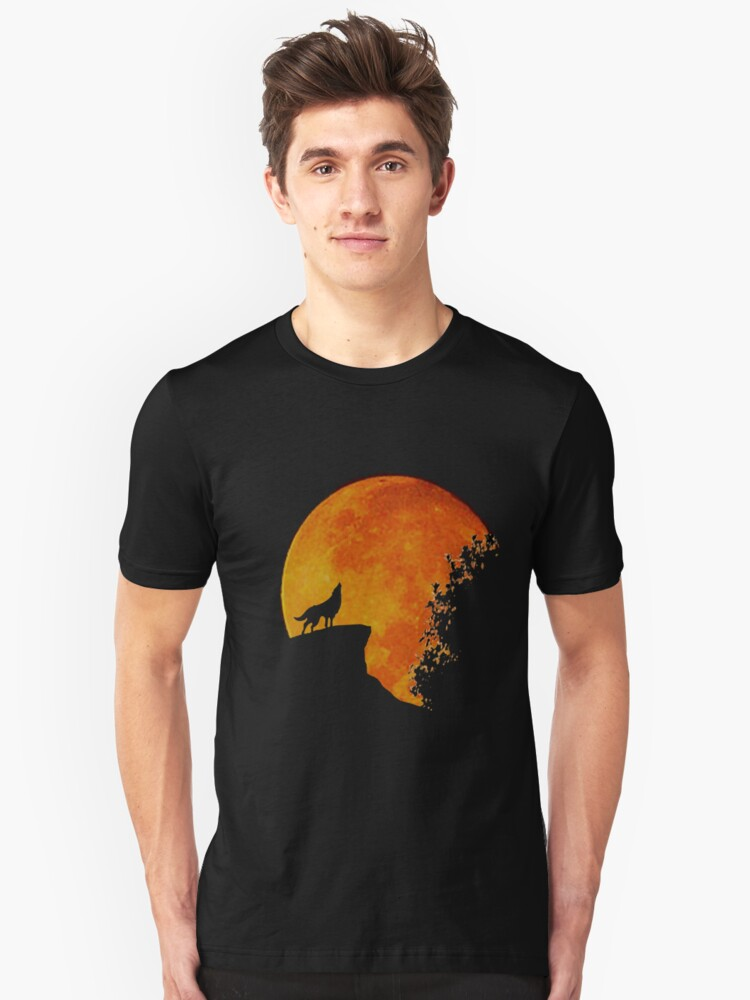 BARK AT THE MOON Unisex T-Shirt Front