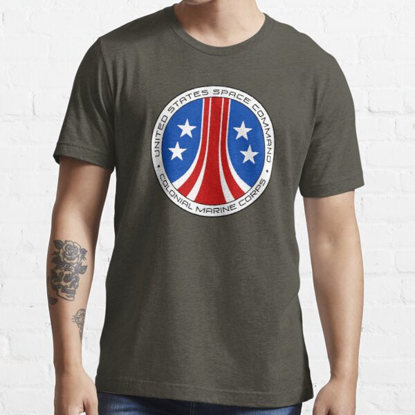 United States Colonial Marine Corps Insignia - Aliens Essential T-Shirt