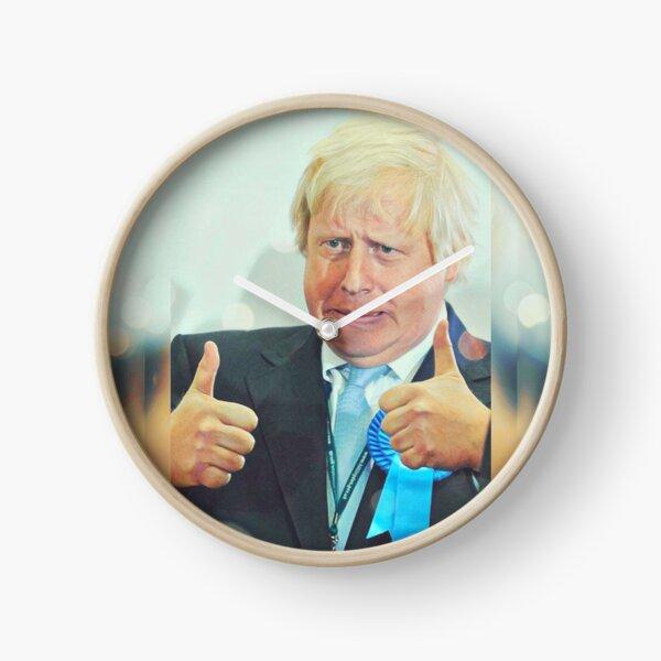 Boris Johnson- Two Thumbs Up Clock