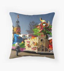 Carnival in Bergen op Zoom Throw Pillow