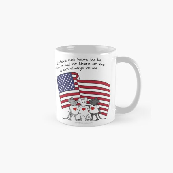 MantraMouse® It Can Always Be We Cartoon in Color Classic Mug
