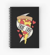 Pizza is true love Spiral Notebook