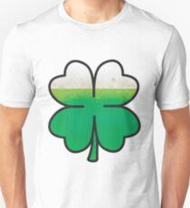 Green Beer Leaf Clover  T-Shirt