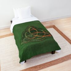 Book of Shadows - Charmed Triquetra Design Comforter