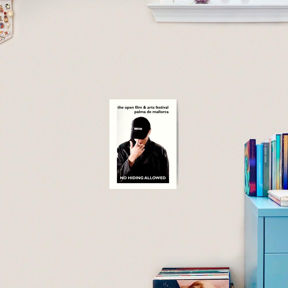 Film Student Art Print