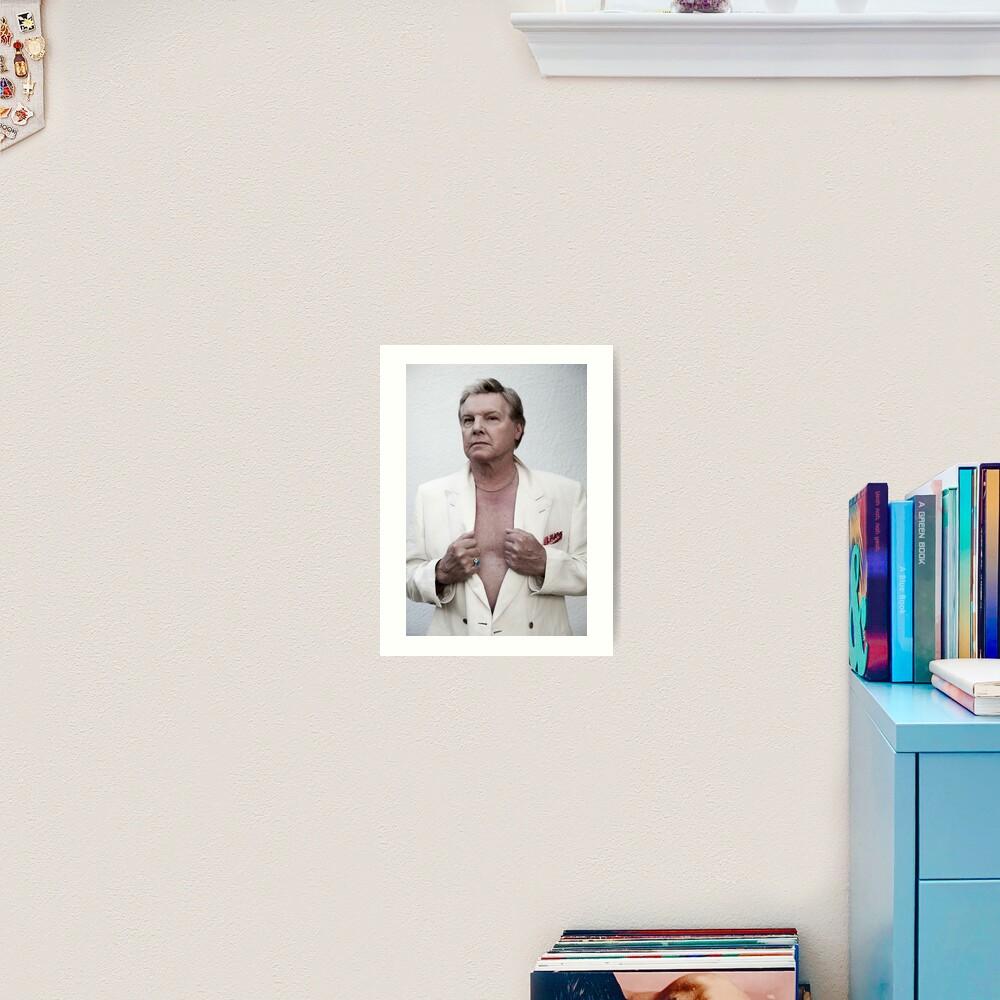 Jess Conrad - Actor, Singer, Showman. Art Print