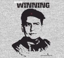 Charlie Sheen Winning T shirt-Blank Background