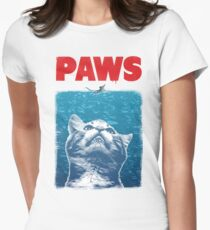 Paws Women's Fitted T-Shirt