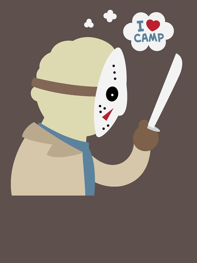 I Love Camp by murphypop